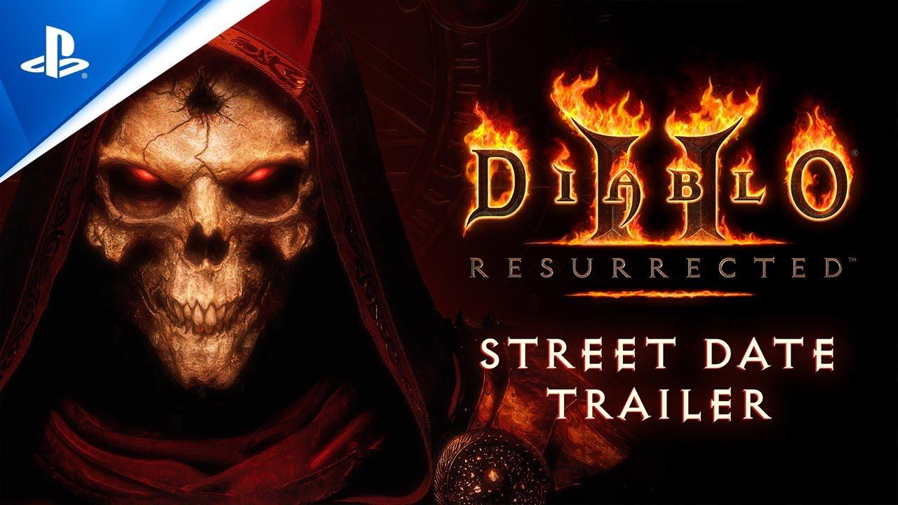 Diablo II: Resurrected - Street Date Trailer | PS5, PS4