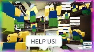 RISE OF THE NOOBS on ROBLOX!