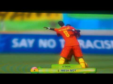 FIFA World Cup 28 to 0 Ghana Rain