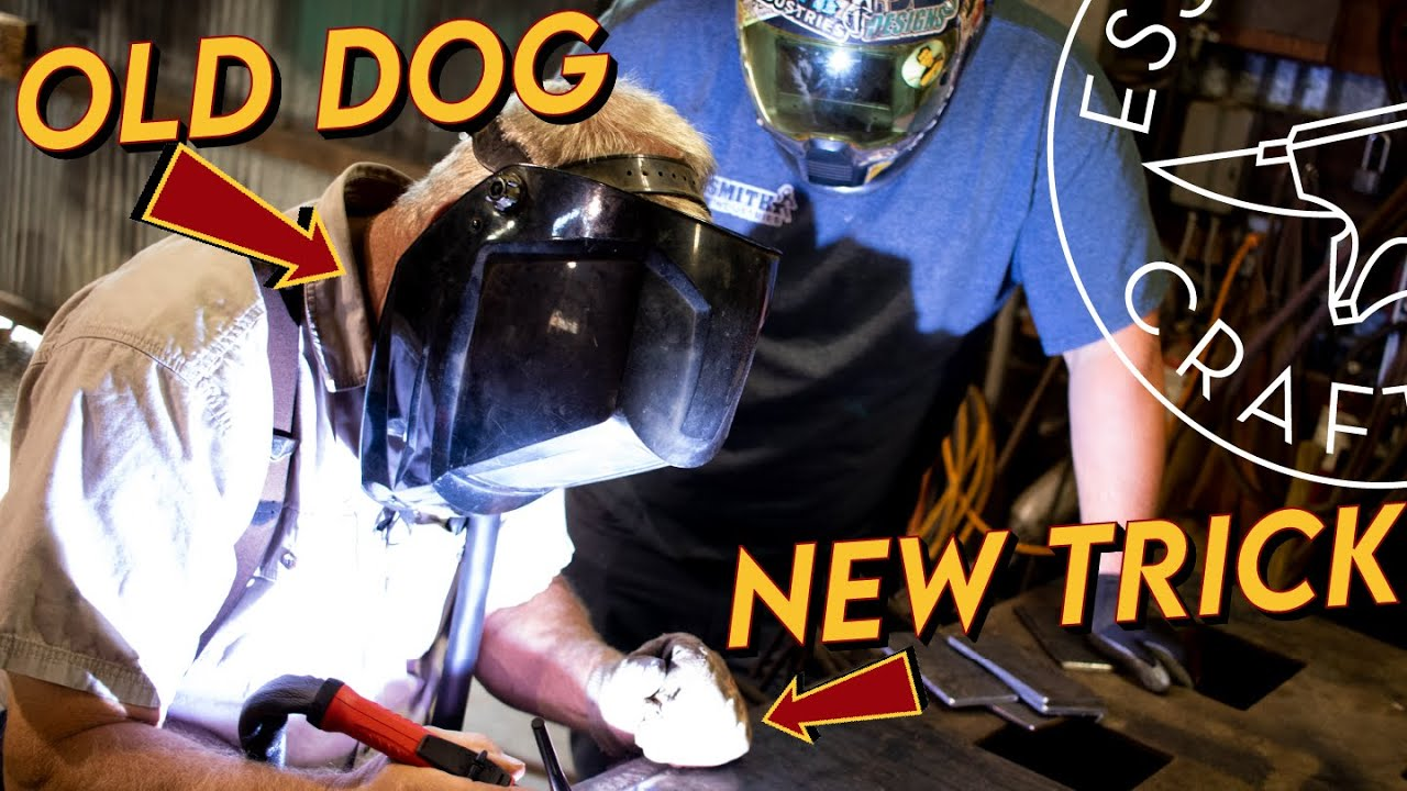 EC's first TIG Welding Lesson