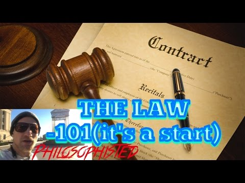 Law -101 (An Introduction for Beginners)