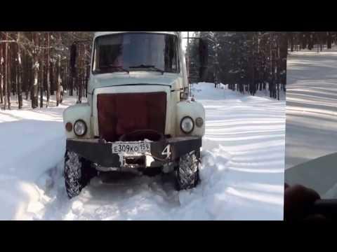 Обзор ГАЗ Егерь 33081
