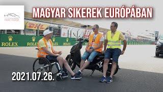 Magyar autósportsikerek Európában (Parc Fermé ep.121)