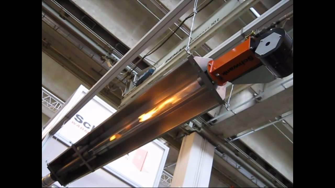 Schwank Tube Heater Exhibition Demonstration Youtube