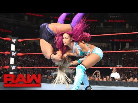 Sasha Banks vs. Dana Brooke: Raw, Aug. 8, 2016