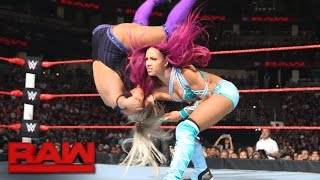 Gambar cover Sasha Banks vs. Dana Brooke: Raw, Aug. 8, 2016