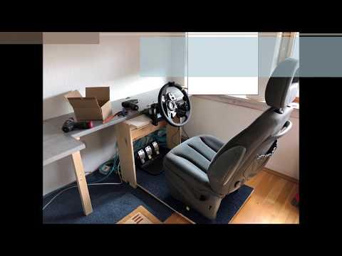DIY Homemade Cockpit ETS & Farming Simulator