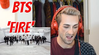 Dance Coach Reacts to BTS 'FIRE' DANCE PRACTICE!