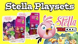 Angry Birds Stella App Telepods Playsets