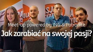 Meet-up powered by ING & Patronite - Katowice 29.11.2018