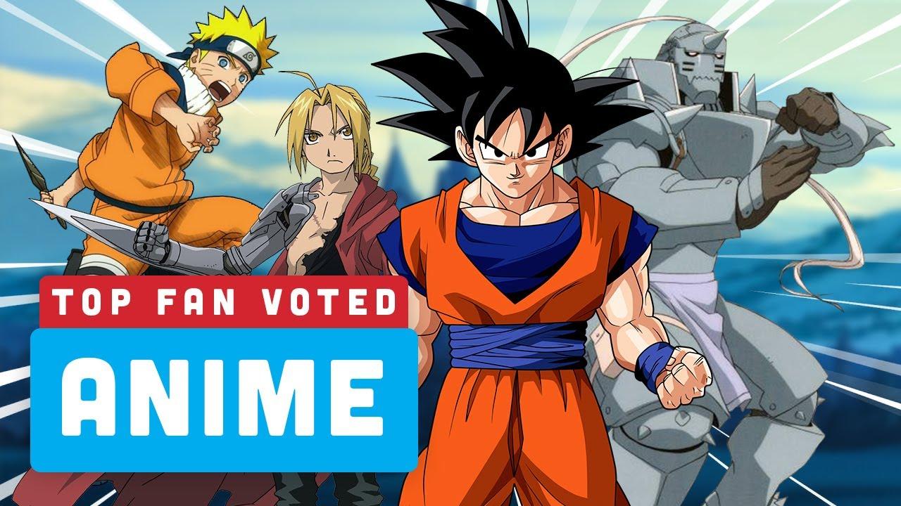 Seu Top 5 Anime - Ranking de Poder + vídeo