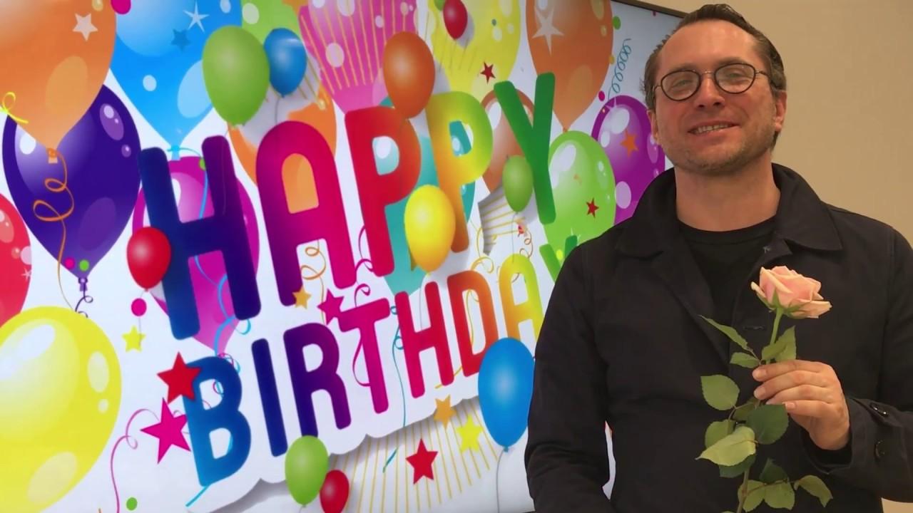 Идеи поздравления с днем рождения генерального директора мужчину