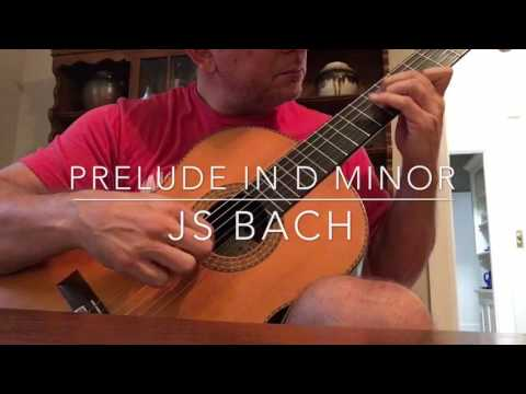 Preclude in d minor by JS Bach