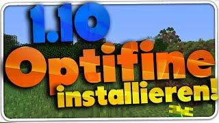 Minecraft 1.10 OPTIFINE installieren! (Tutorial deutsch) | DerKalleHD