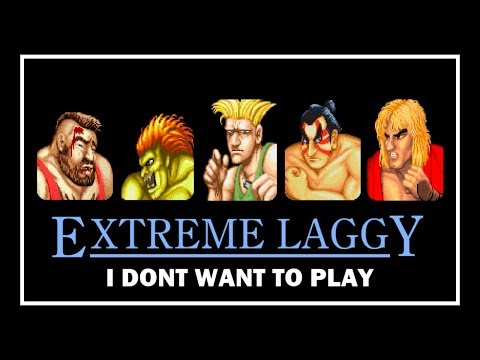 [初代] 仮想LAGGY - STREET FIGHTER II CHAMPION EDITION [SFC/SNES]