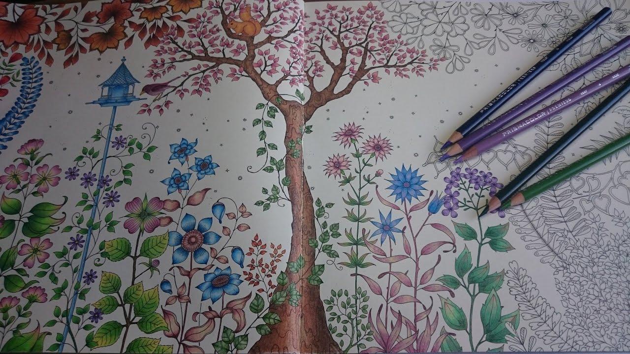 Coloring The Secret Garden Part 2
