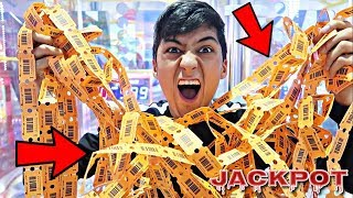 DO NOT TRY THIS AT THE ARCADE!! *MONSTER JACKPOT*