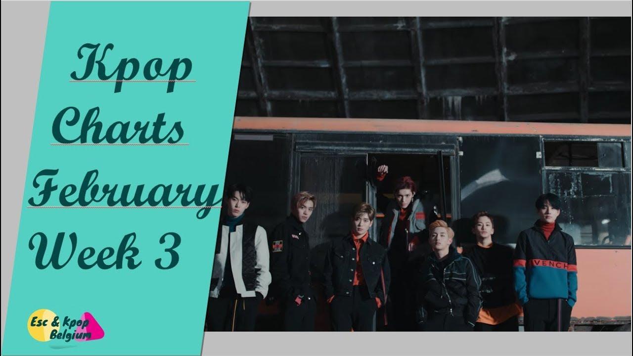 Kpop Charts, February 2018 (Week 3) // Kpop