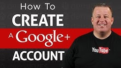 How To Create a Google+ Account - 2014