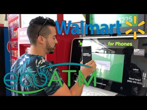 Selling My Galaxy Note 9 To A ecoATM Machine at Walmart ...