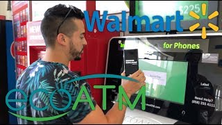 Selling My Galaxy Note 9 To A ecoATM Machine at Walmart