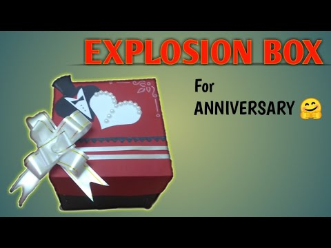 EXPLOSION BOX (Simple & Sweet) Anniversary Gift☺️