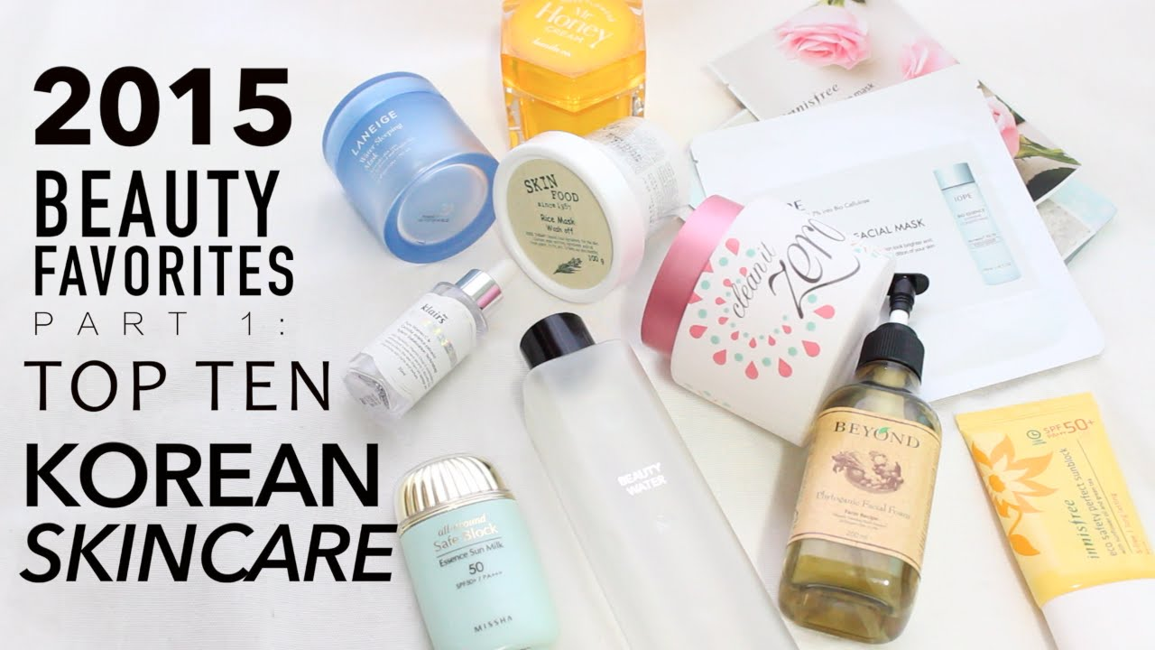 Best Beauty Must Have Korean Skincare