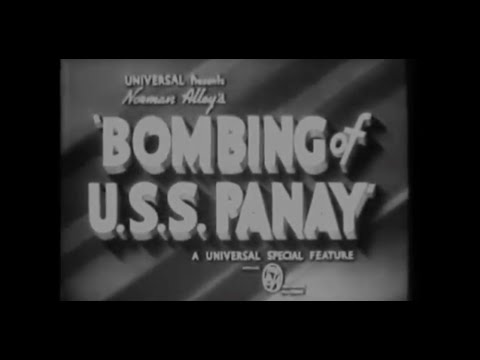 USS Panay - Attacked Dec. 12, 1937