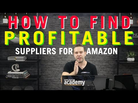 How To Find Suppliers For Your Amazon Wholesale Business