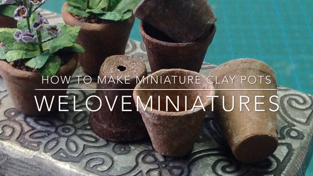 Mini Clay Pots