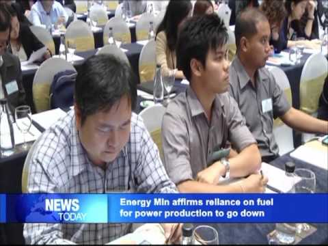Energy Ministry affirms reliance on fuel for power production to go down