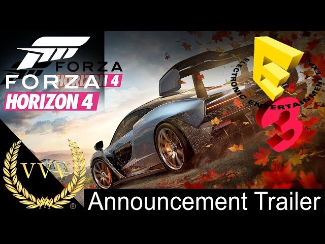 Forza Horizon 4 - Announcement Trailer - E3 2018