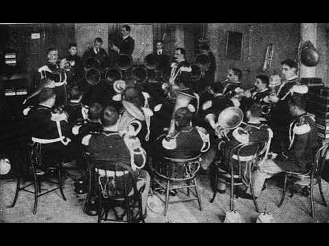 La Media Noche (Mexican dance) - United States Marine Band (~1891) - Columbia Phono. Co.