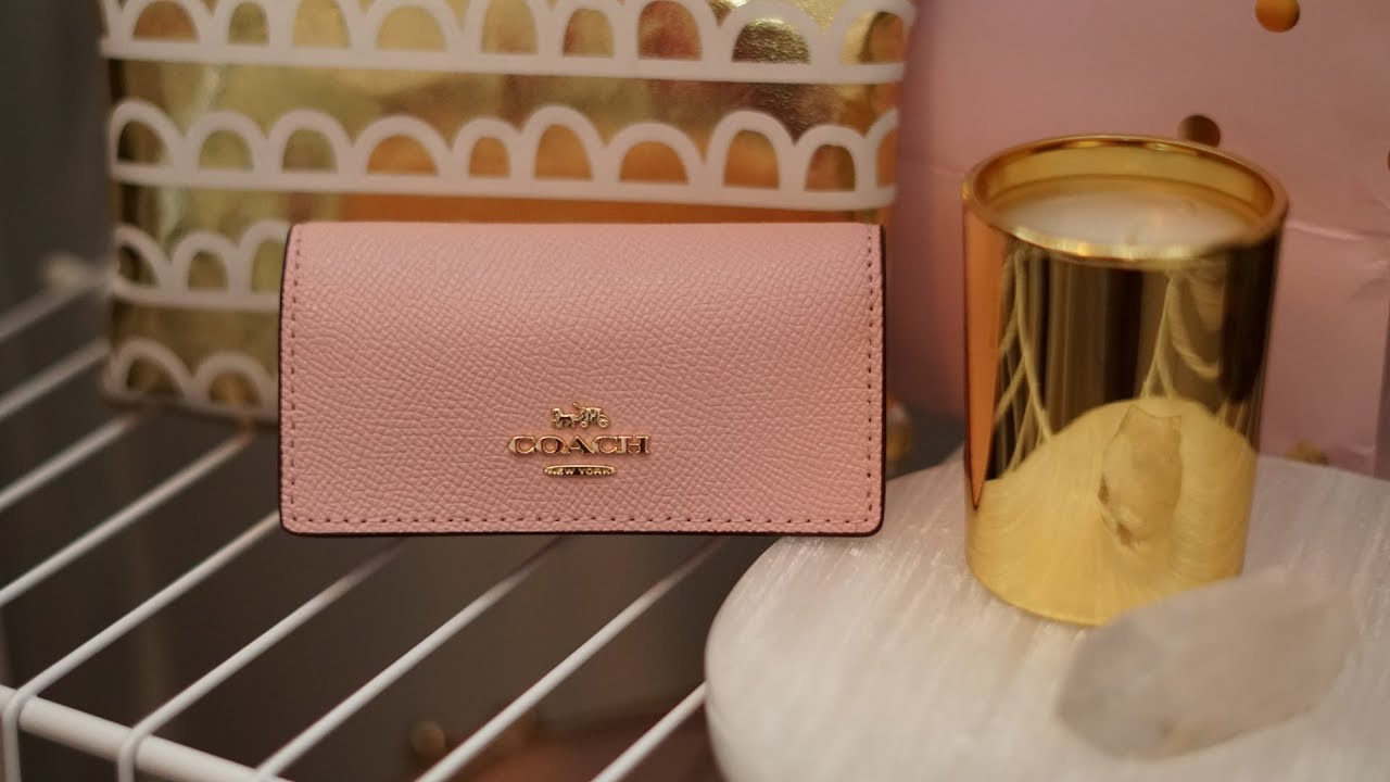 2cf5546e07 Coach Six Ring Key Case   Unboxing   The Lux Angel