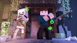 Minecraft-Top 5 Funny Minecraft Animations / Slamacow [HD]
