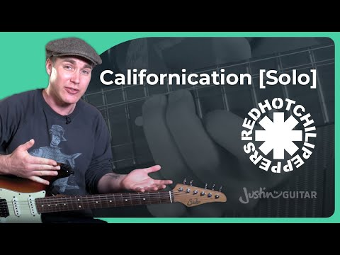 Californication [SOLO] - Red Hot Chili Peppers [John Frusciante] - Guitar Lesson Tutorial (CS-008)