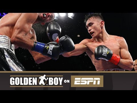 Golden Boy on ESPN: Romero Duno vs Gilberto Gonzalez (FULL FIGHT)