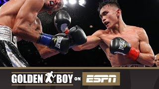 Golden Boy on ESPN: Romero Duno vs Gilberto Gonzalez (FULL FIGHT)
