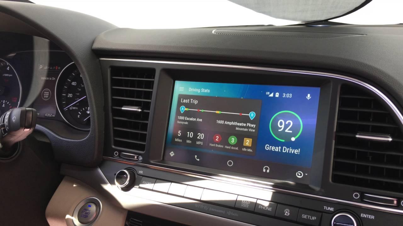 Android Auto Hyundai OEM App - Google I/O 2016