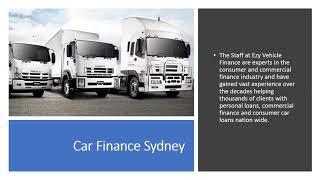 Car Loan Sydney   EzyVehicleFinance