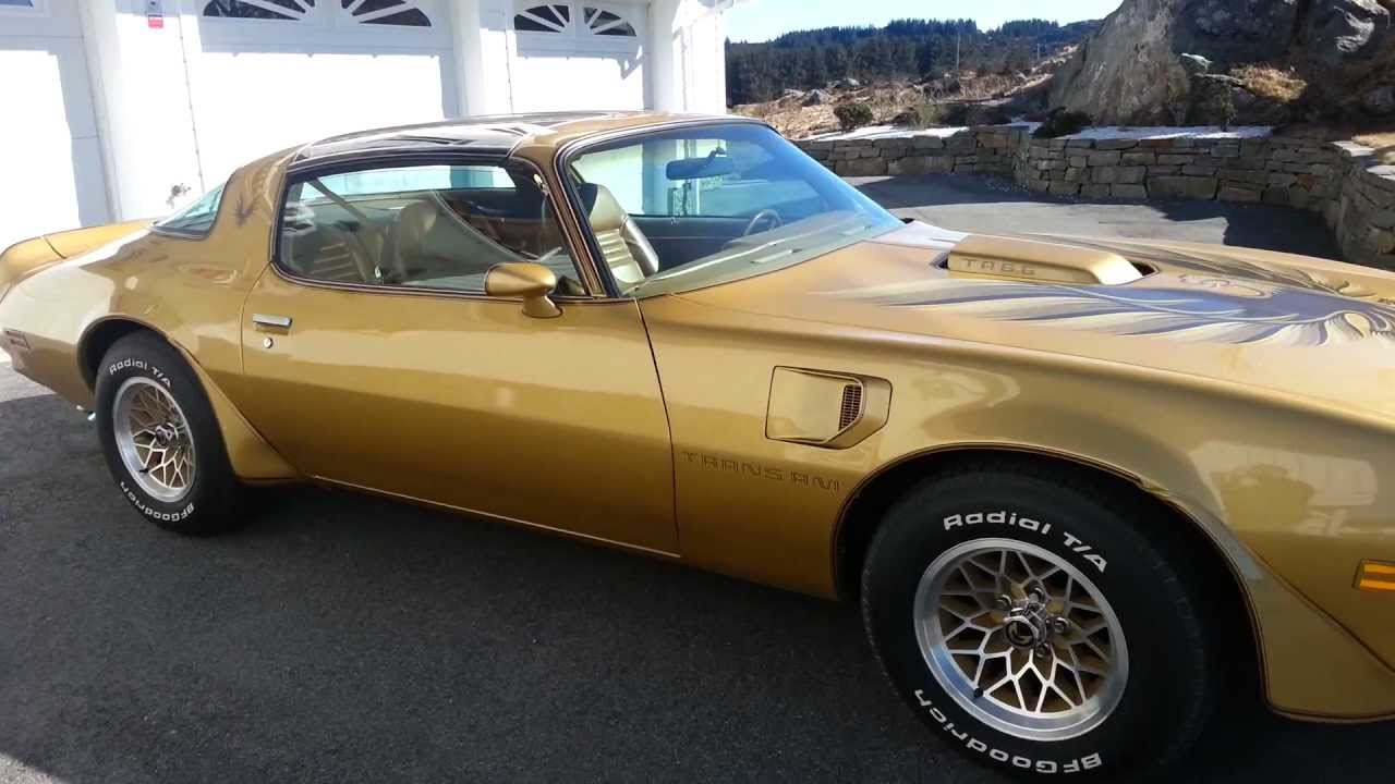 1978 Pontiac Trans Am Gold Special Edition Youtube