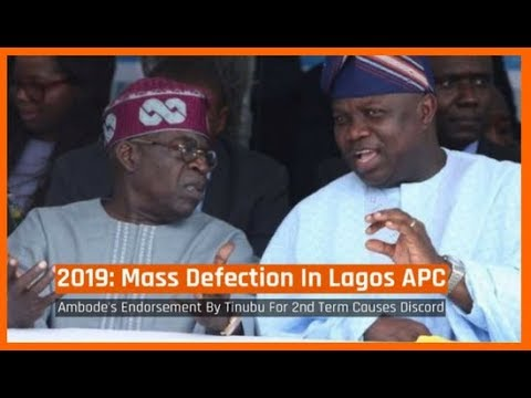 Nigeria News Today: 2019: Mass Defection Looms In Lagos APC Over Ambode's Second Term (05/03/2018)
