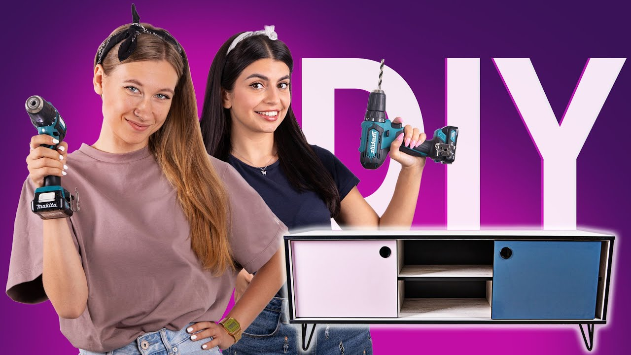 DIY: Тумба під телевізор | Розіграш