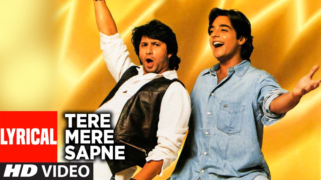 Download Tere Mere Sapne Title Song Lyrical Video | Arshad Warsi | Udit Narayan,Vinod Rathod,Hema Sardesai