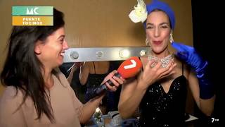 La Beti en TV Murcia: Burlesque