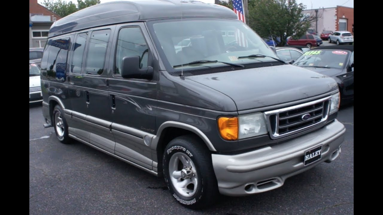 *SOLD* 2004 Ford Econoline Explorer Conversion Walkaround ...