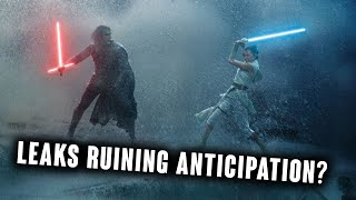 Are STAR WARS EPISODE IX leaks destroying the anticipation?