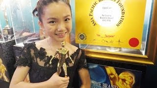 Crystal Lee 李馨巧 won Brand Laureate Award & her amazing performance