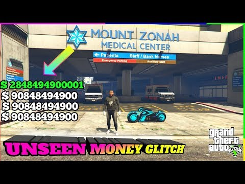 Gta 5 Unseen Money Glitch ( MILLIONS INN )