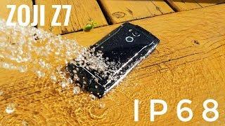IP68 for $85? Zoji Z7 Smartphone REVIEW